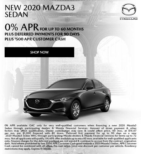 September   2020 Mazda3
