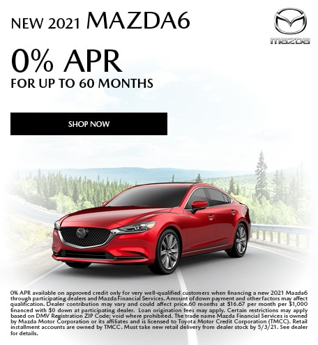 April | 2021 Mazda6