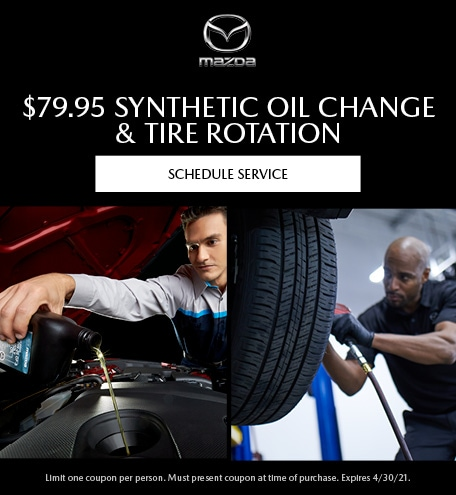 Synthetic Oil Change & Tire Rotation