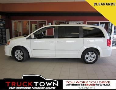 2012 Dodge Grand Caravan CREW | STOW AND GO Minivan