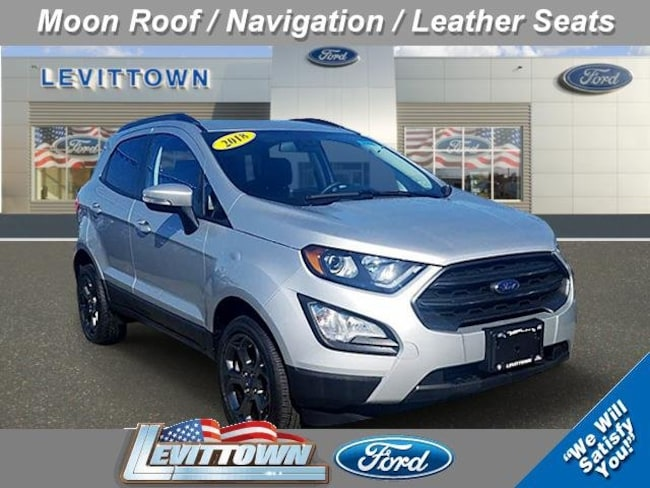 Used 2018 Ford EcoSport SES SES 4WD Levittown, NY