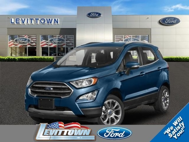 New 2019 Ford EcoSport SE SUV in Levittown, NY