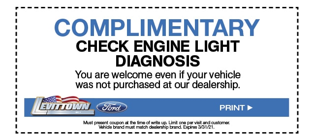 Complimentary Check Engine Light Diagnosis Special