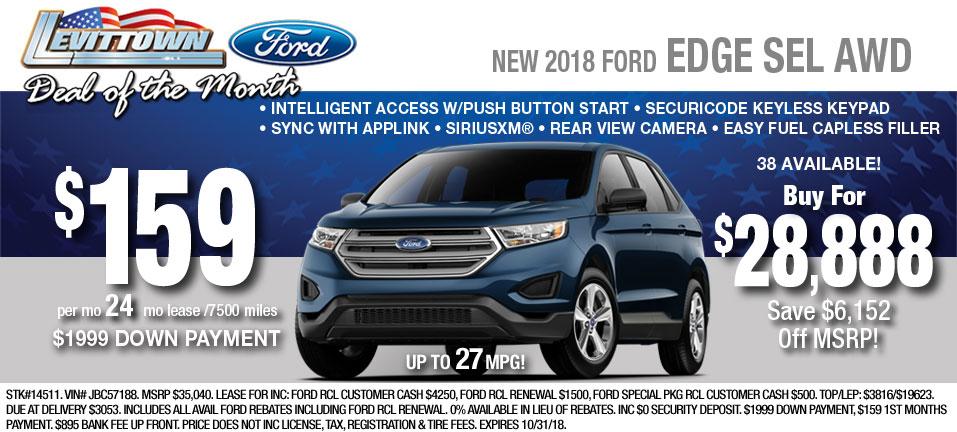 Ford Edge Inventory At Long Island Ny Ford Dealership