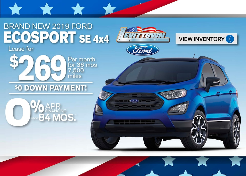 Ford EcoSport Deals May 2020