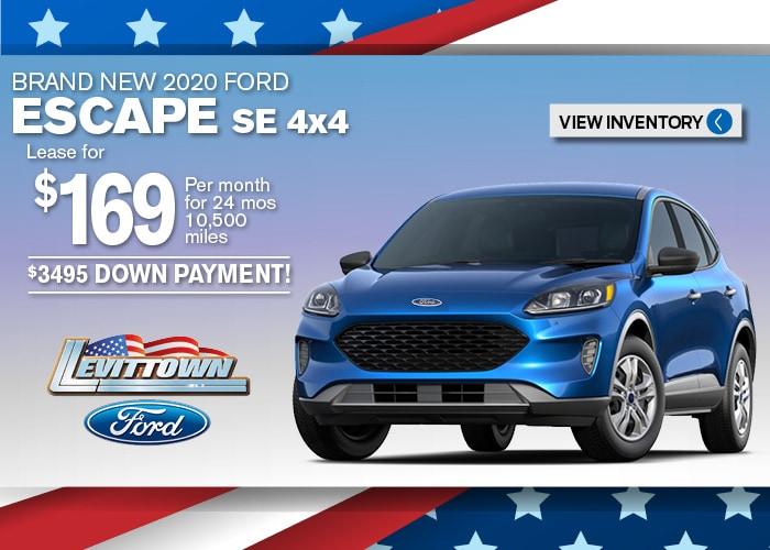 Ford Escape Jan 2020
