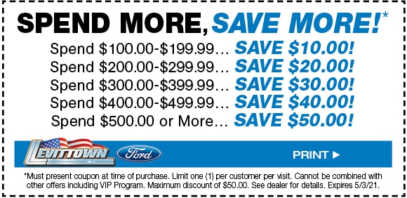 Spend More, Save More Special - April 2021