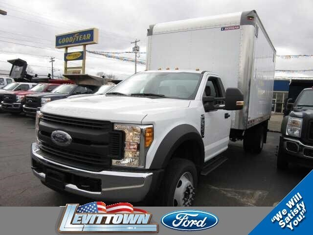 2017 Ford F-550 Chassis Landscape Body Truck Regular Cab