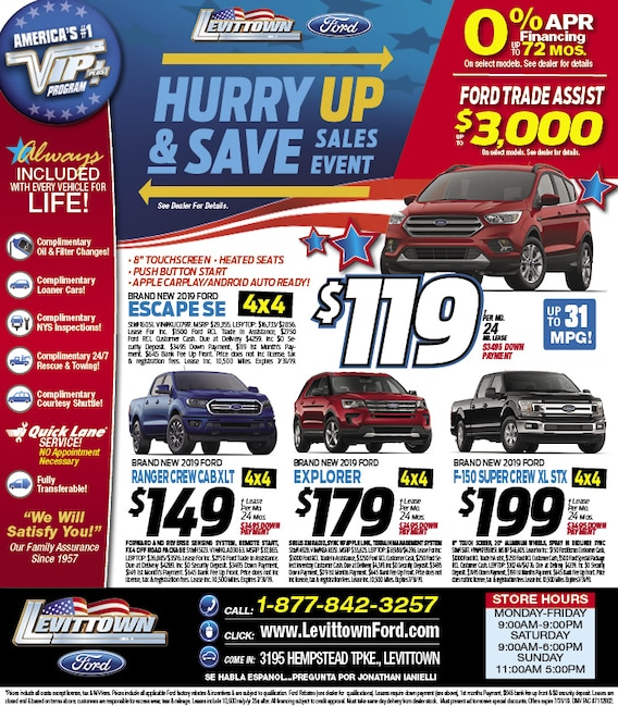 Levittown Ford Newspaper Ad | Levittown Ford LLC
