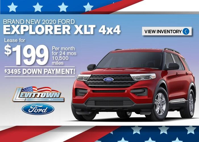 Ford Explorer Jan 2020
