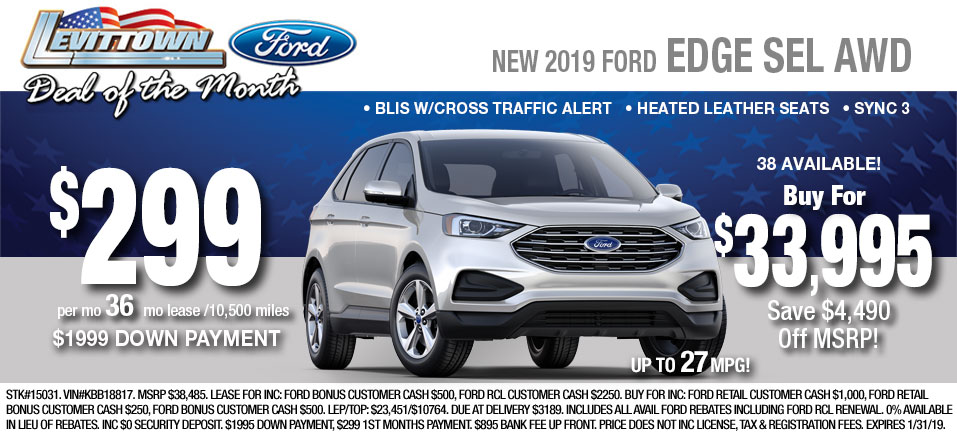 Ford Edge Inventory At Long Island Ny Ford Dealership