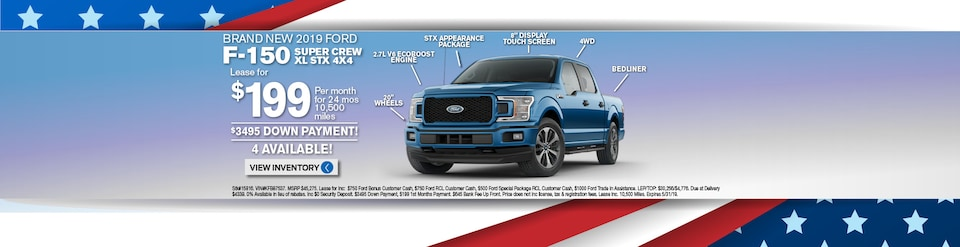New Ford F150 Lease Deals and Sale at Long Island Ford Dealer