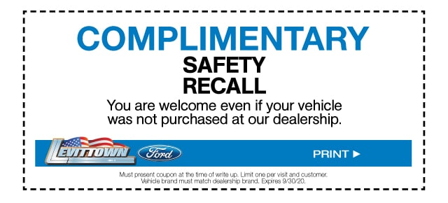 Complimentary Safety Recall