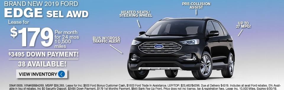 Ford Edge Lease Deals and Sale June 2019