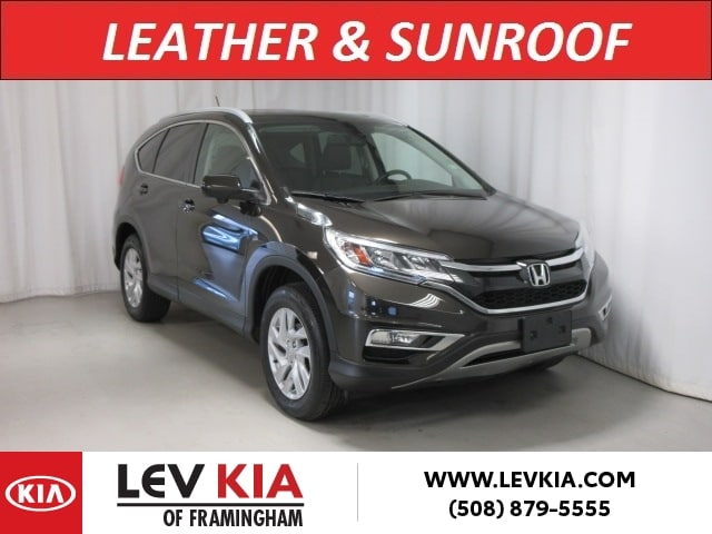 Featured Pre-Owned 2016 Honda CR-V AWD EX-L SUV for sale near you in Framingham, MA