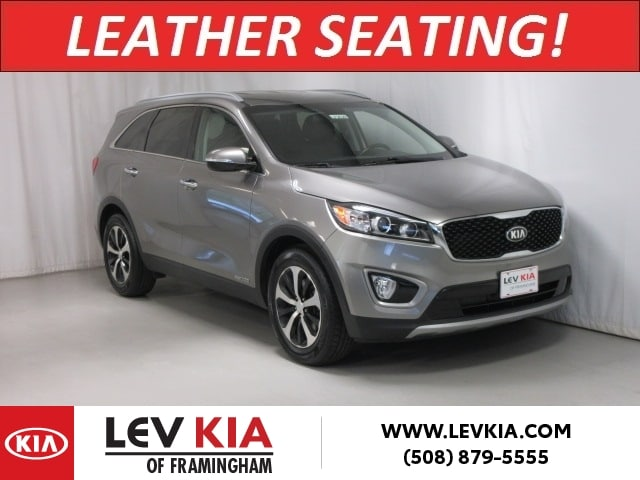 Featured Pre-Owned 2016 Kia Sorento AWD EX V6 SUV for sale near you in Framingham, MA
