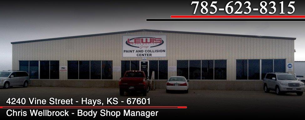 Body Shop Hays Ks Hays Body Shop Lewis Paint And Collision Center
