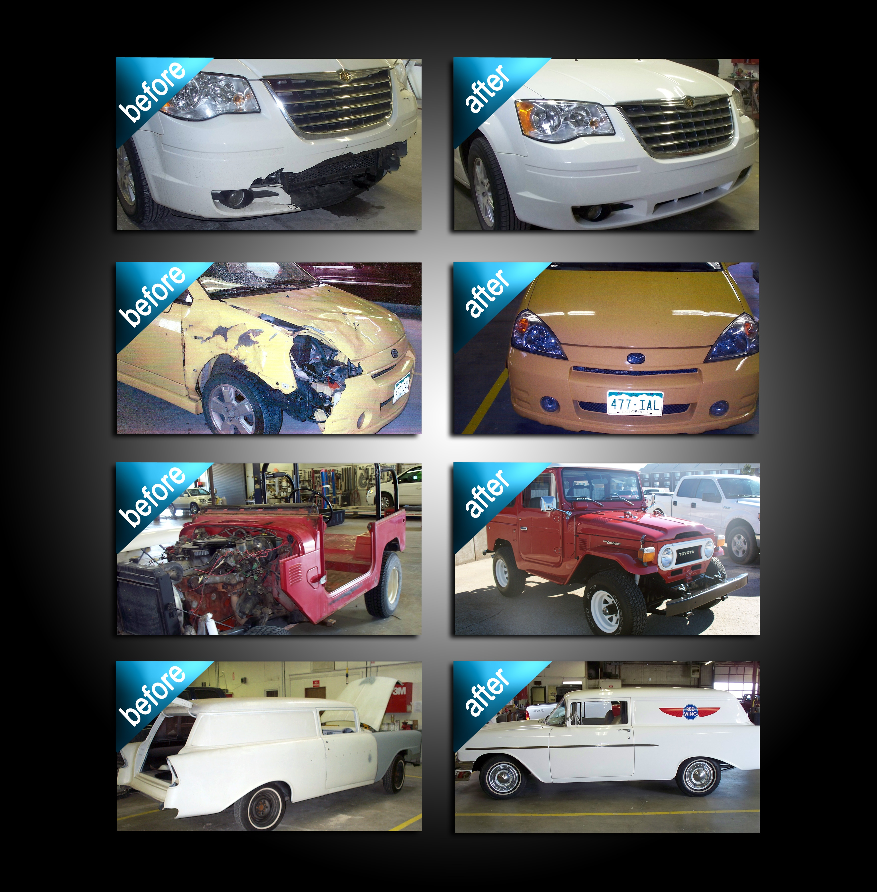 Auto Body Shop Lewis Cdjr Of Hays Hays Ks