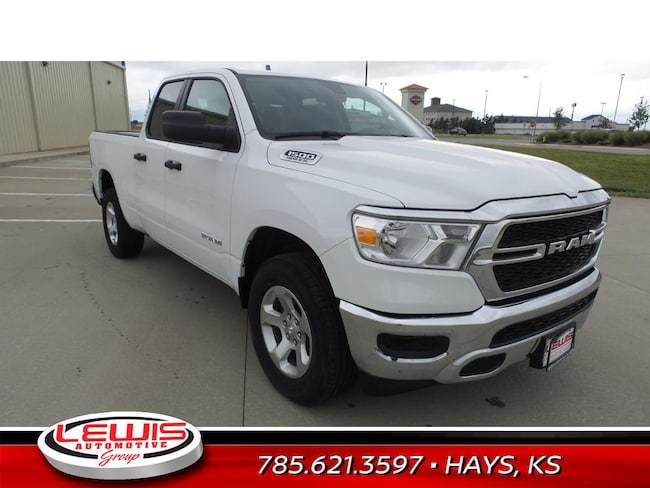 New 2019 Ram 1500 TRADESMAN QUAD CAB 4X4 6'4 BOX Quad Cab | Hays, Dodge City & Garden City