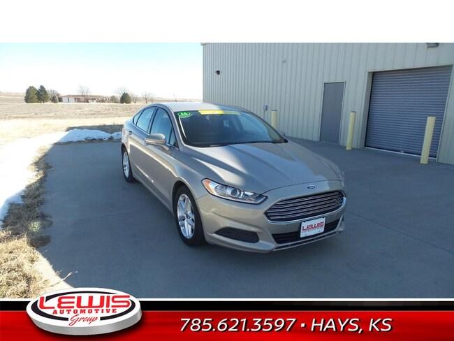 Pre-Owned 2016 Ford Fusion SE Sedan | Hays, Dodge City & Garden City