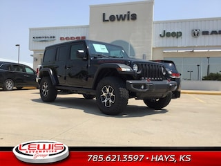 New or Used 2019 Jeep Wrangler UNLIMITED RUBICON 4X4 Sport Utility for sale in Hays, KS