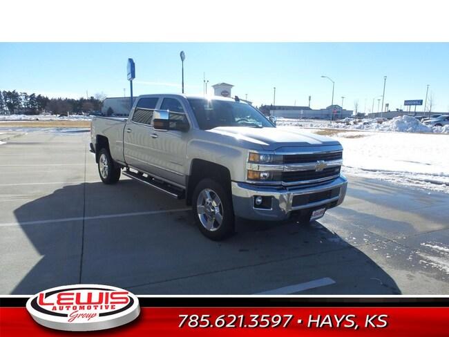 Pre-Owned 2017 Chevrolet Silverado 2500HD LTZ Truck Crew Cab   Hays, Dodge City & Garden City