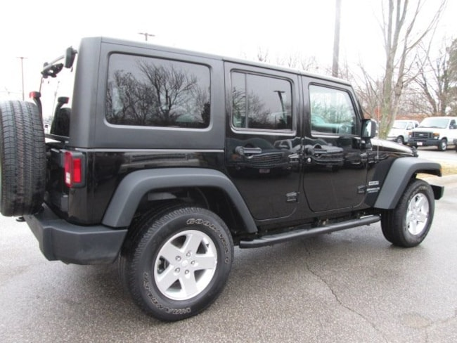 used 2014 jeep wrangler unlimited sport 4x4 for sale in fayetteville ar springdale rogers. Black Bedroom Furniture Sets. Home Design Ideas
