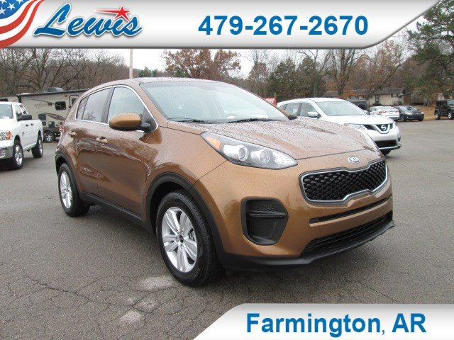 Pre-Owned 2018 Kia Sportage LX SUV for sale in Fayetteville, AR