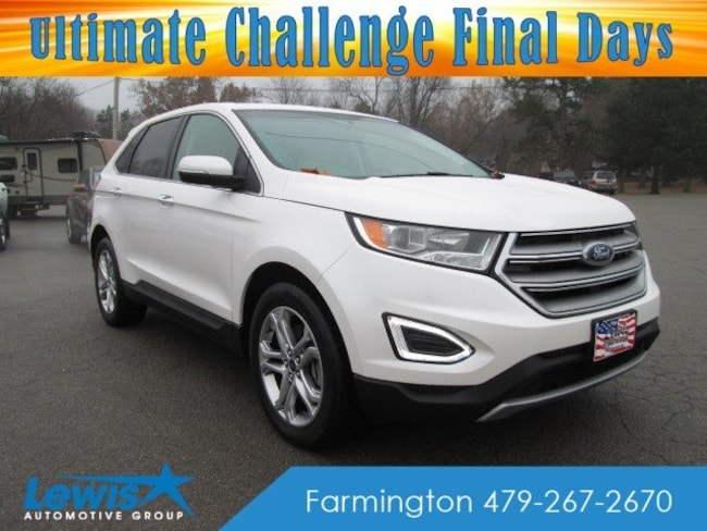 Pre-Owned 2017 Ford Edge Titanium SUV for sale in Fayetteville, AR