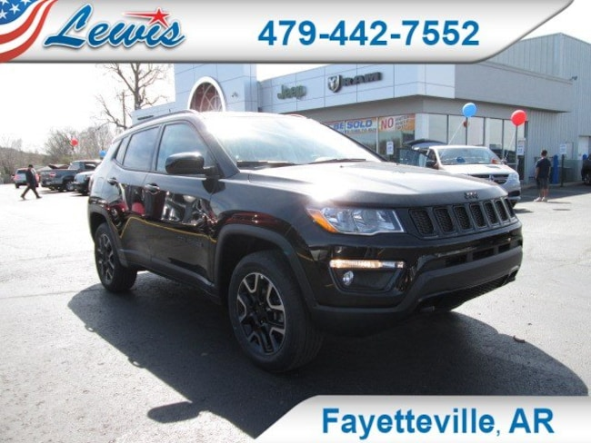 New 2019 Jeep Compass UPLAND 4X4 Sport Utility in Fayetteville, AR