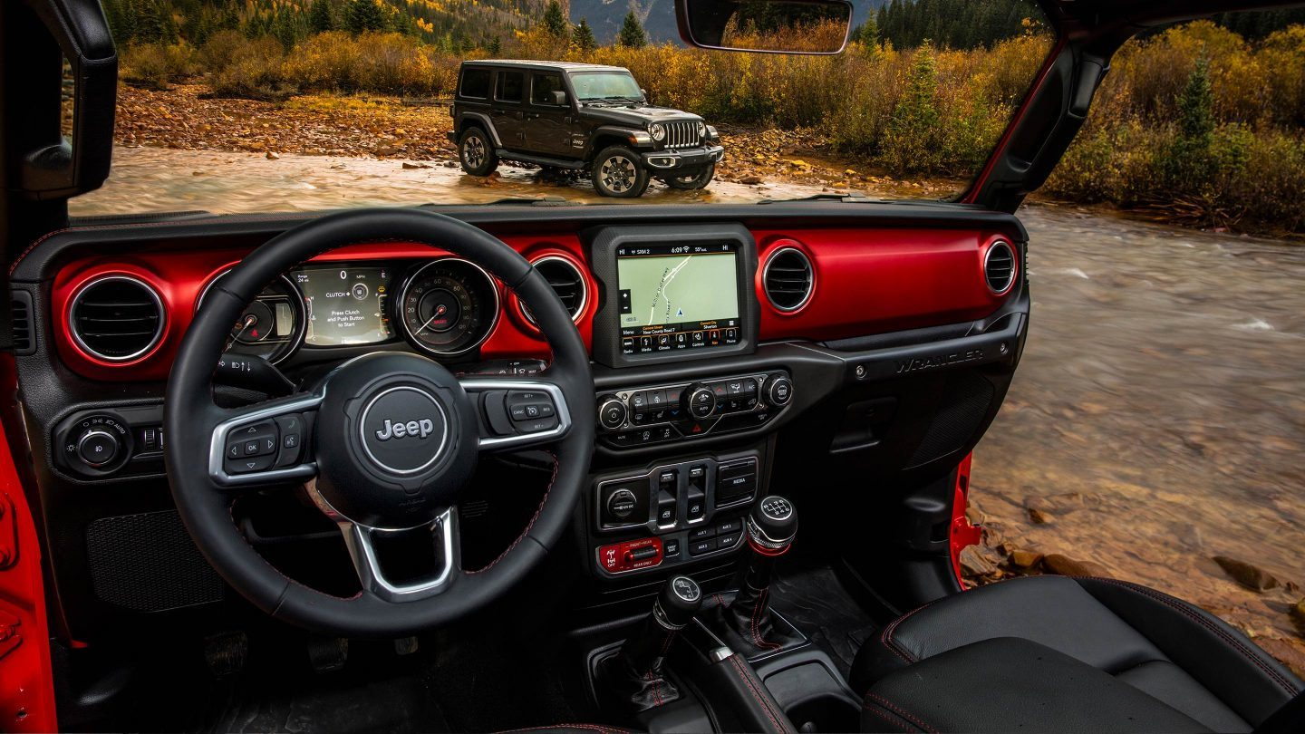 2018 Jeep Wrangler Unlimited Interior