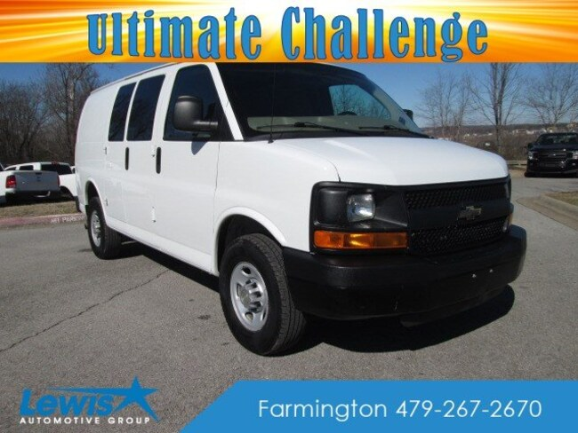 Used 2014 Chevrolet Express 2500 WV Van in Fayetteville, AR