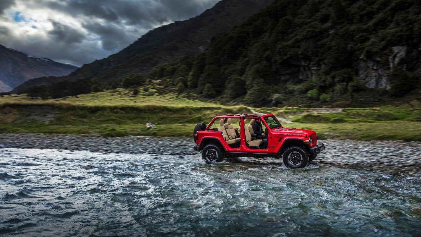 2018 Jeep Wrangler Unlimited Capability