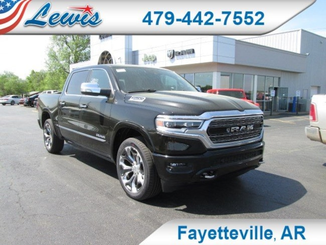 New 2019 Ram 1500 LIMITED CREW CAB 4X4 5'7 BOX Crew Cab in Fayetteville, AR