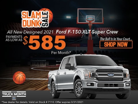 2021 Ford F-150 XLT Super Crew - Payments as low as $585/Month*