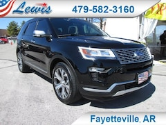 Pre-Owned 2018 Ford Explorer Platinum 4WD Sport Utility 1FM5K8HT9JGC22831 for sale in Fayetteville, AR