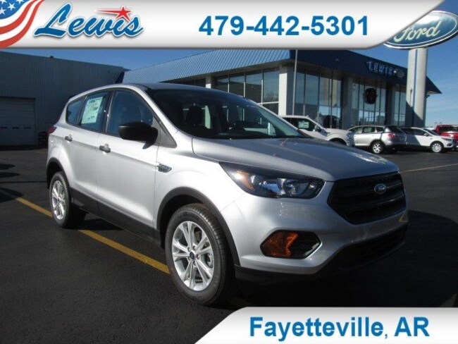 New 2019 Ford Escape S SUV Springdale, AR