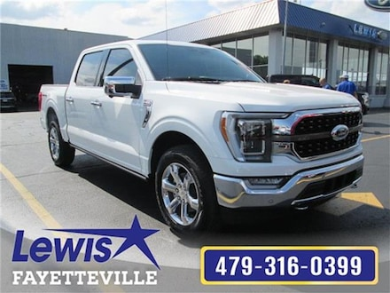 New 2021 Ford F-150 King Ranch 4x4 SuperCrew Cab Styleside 5.5 ft. box Truck SuperCrew Cab for sale in Fayetteville, AR