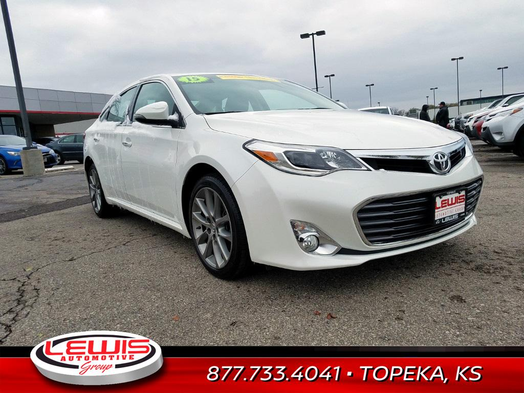 2015 Toyota Avalon For Sale >> Used 2015 Toyota Avalon For Sale At Lewis Ford Of Dodge City Vin