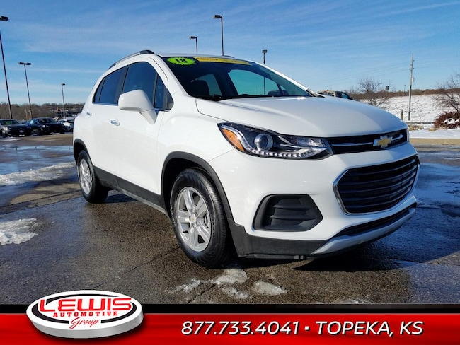 Used 2018 Chevrolet Trax Suv Used Car Dealerships Hays Dodge City