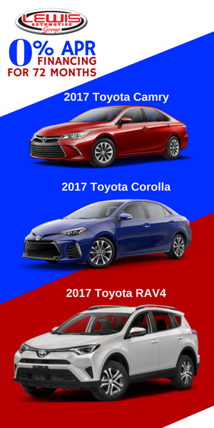 Red White And Blue Auto Sales >> Red White And Blue Sale Lewis Toyota Of Hays