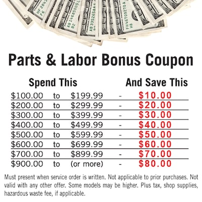 Spend & Save Discount