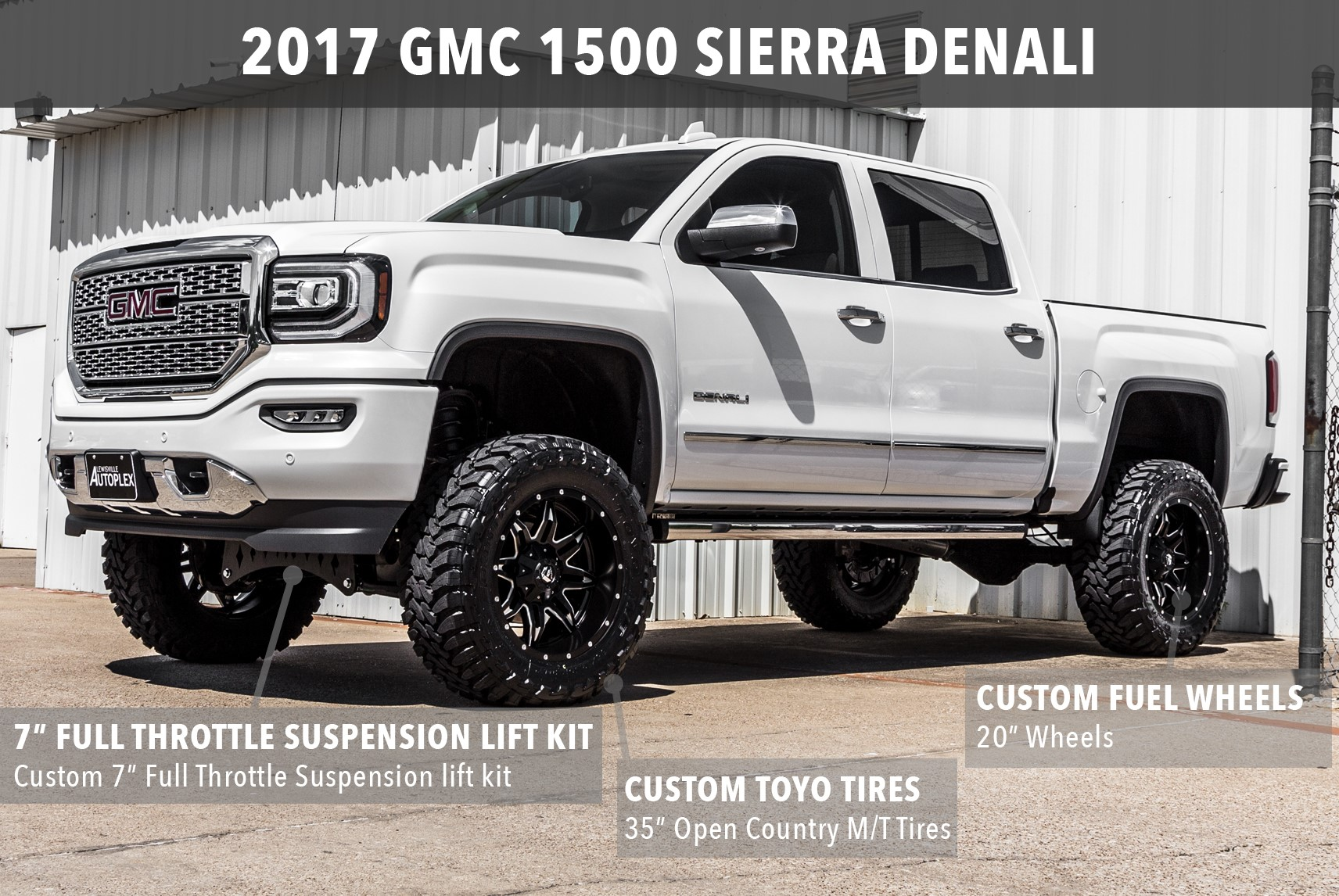 Ford Dealership Houston >> Lewisville Autoplex Custom Lifted Trucks | View Completed Builds near Dallas TX