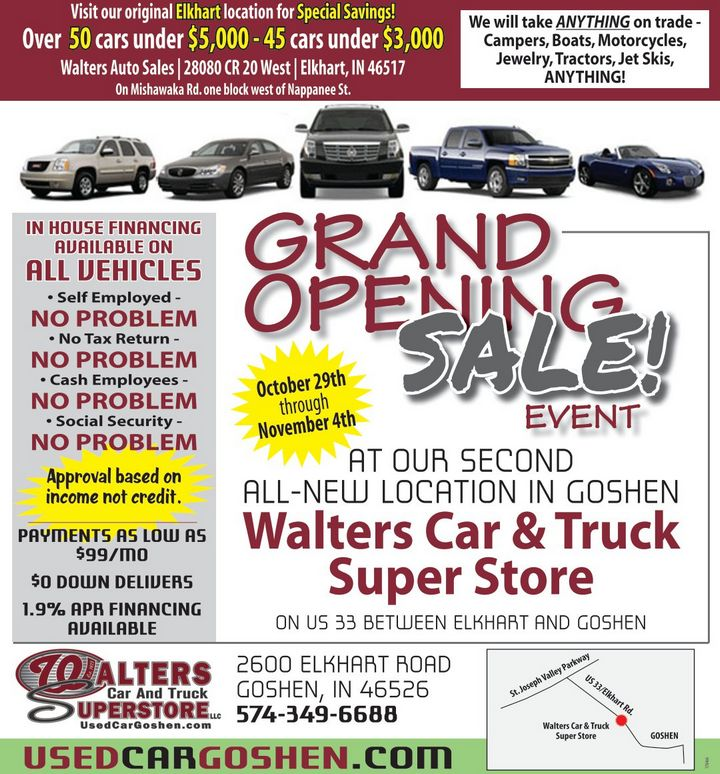 Walters Auto Group Used Car And Truck Dealership In Goshen