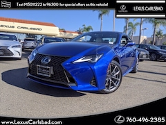 New 2021 LEXUS RC 300 F SPORT Coupe in Carlsbad CA