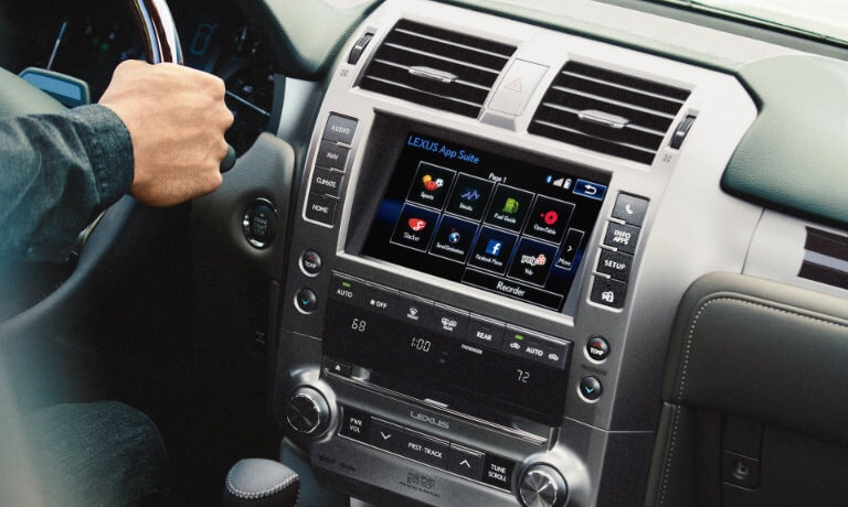 2019 Lexus GX Technology