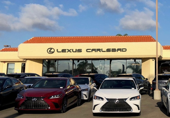 sell lexus vehicles in carlsbad, ca