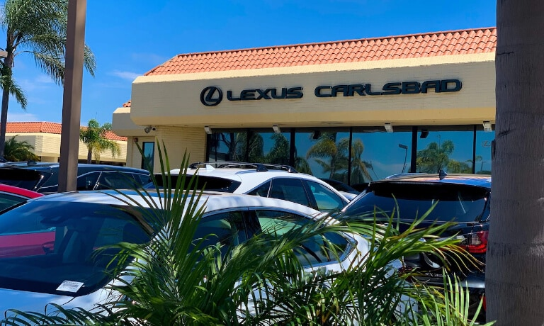 Lexus Carlsbad Store Front side shot