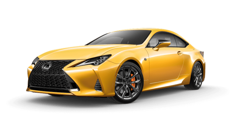 2021 Lexus RC 350 F Sport - Flare Yellow