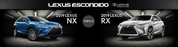 Lexus Nx Vs Rx >> 2019 Lexus Nx Vs 2019 Lexus Rx Lexus Escondido